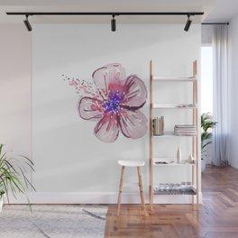 Little Lilac Flower Wall Mural