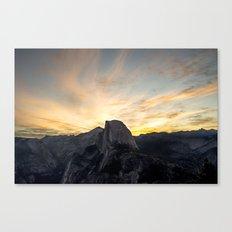 Yosemite National Park - Half Dome at Sunrise Canvas Print