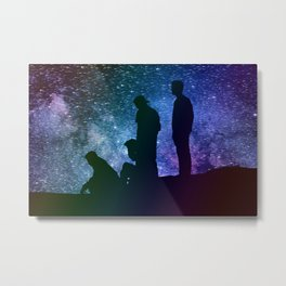 A Starry Night Metal Print