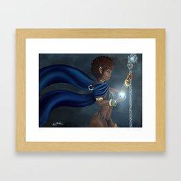 Dark Elf Framed Art Print