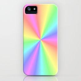 Rainbow Pattern 3 iPhone Case