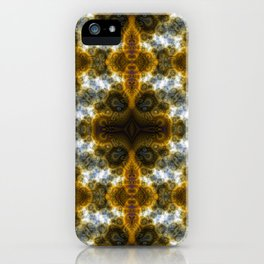 Fractal Art by Sven Fauth - bacterial cells iPhone Case