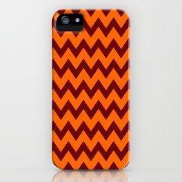 Hokie Chevron iPhone Case