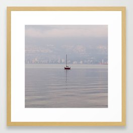 Winter Solitude #7 Framed Art Print