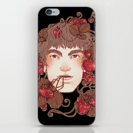 Strawberry Boy iPhone Skin