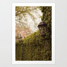 New Orleans - Ivy Garden Wall Art Print
