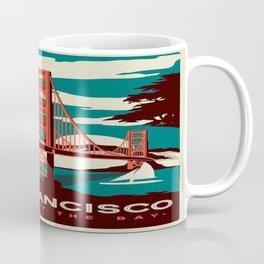 vintage poster san francisco Coffee Mug