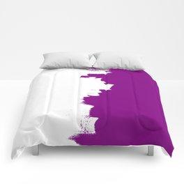 Purple imbalance Comforters