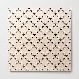 Mod Ivory Metal Print