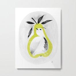 A partridge in pear tree Metal Print