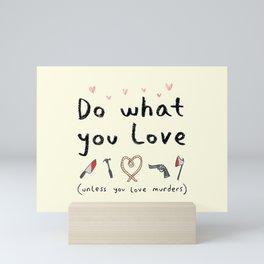 Motivational Poster Mini Art Print