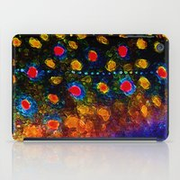 trout iPad Cases featuring Beautiful Skin, Brook Trout by James Lady