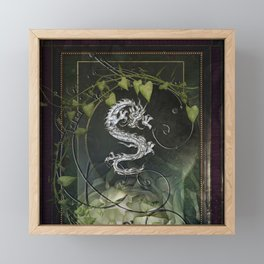 Chinese dragon Framed Mini Art Print