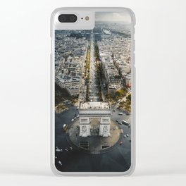 Rise & shine over the Arc! Clear iPhone Case
