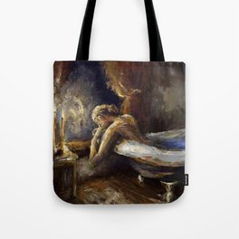 The Burnout. Tote Bag