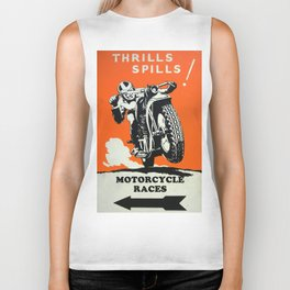 Thrills Spills Biker Tank