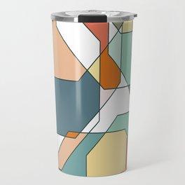 Desert Polygons Travel Mug