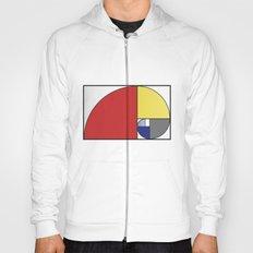 Mondrian vs Fibonacci Hoody