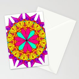 Mystic Fire Mandala Stationery Cards