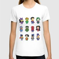 superheroes T-shirts featuring superheroes by Manola  Argento