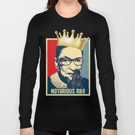 Notorious RBG - Ruth Bader Ginsburg Long Sleeve T-shirt