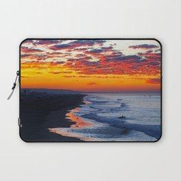Sunrise Huntington Beach Pier   12/12/13 Laptop Sleeve