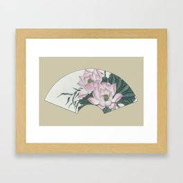 Lotus 2 Framed Art Print