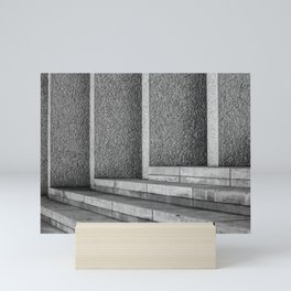 Concrete Lines II Mini Art Print