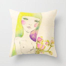 Dear. Spring Throw Pillow