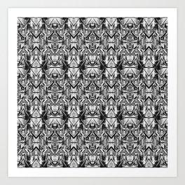 Distressed Robotics Art Print