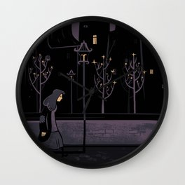 On Her Own Wall Clock
