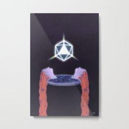 Cosmic Pool Metal Print