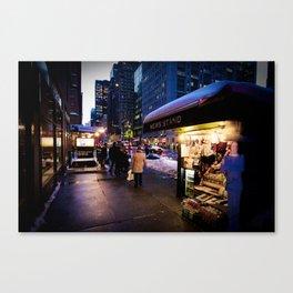 NYC Newsstand  Canvas Print