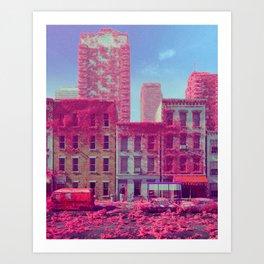 FLUFFERTON (everyday 01.27.18) Art Print