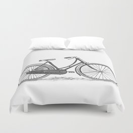 Bicycle 2 Duvet Cover