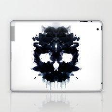 Rorschach skull dark Laptop & iPad Skin