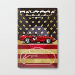 Daytona F Vintage.jpg Metal Print