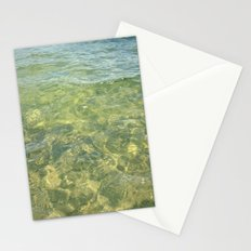 water ripples Stationery Cards