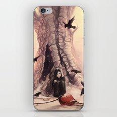 Feeding the Crows iPhone & iPod Skin