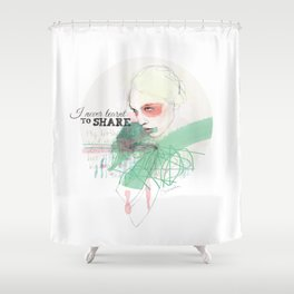 FASHION ILLUSTRATION 16 Shower Curtain