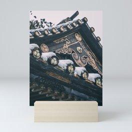 Snowy Nikko Mini Art Print