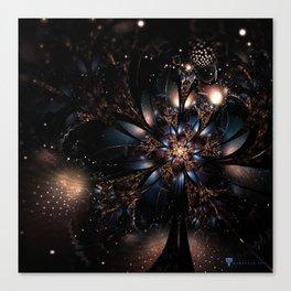 Molly Flower Fractal Manafold Art Canvas Print