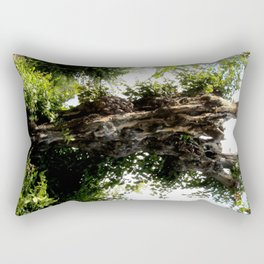 The Ghost Tree Rectangular Pillow