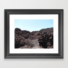 Lava Framed Art Print