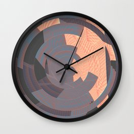 long tan and handsome Wall Clock