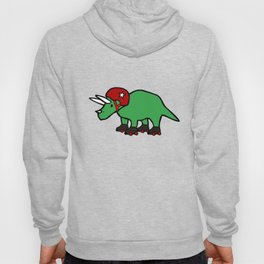 Roller Derby Triceratops Hoody