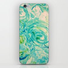 marbling twirl iPhone & iPod Skin