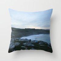 new zealand Throw Pillows featuring New Zealand by Tasha Jo