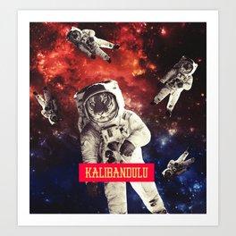 SPACE - KALIBANDULU Art Print