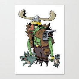 Goblin Boss Canvas Print